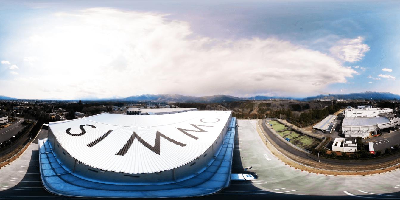 シモンズの富士小山工場・物流センター